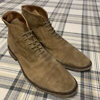 NEW - Frye Men's Paul Lace Up Boots - Brown Suede - Size 13 - $328 Retail