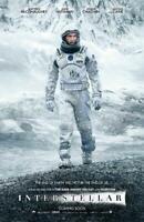 Interstellar Movie POSTER 11 x 17 Matthew McConaughey, Anne Hathaway, D