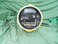Vintage Yellow Weltron Radio 8 TRACK STEREO AM/FM MULTIPLEX Nice Project Rebuild