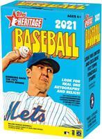 2021 Topps Heritage Baseball Factory Sealed 8 Pack Value Box