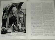 1946 magazine article about Plymouth England, WWII bombing, rebuilding