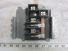 """Cutler Hammer """"Ch"""" Type Bus Bar for 2P 125A 240V, Used"""