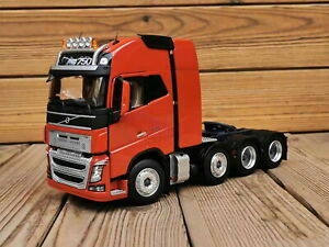 1/32 Scale Volvo FH16 750 Heavy Duty Truck Tractor Red Diecast Model Toy Model