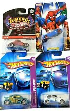 Hot Wheels Pop Offs & Marvel Heros Spiderman Car & Larry's Hot Wheels Garage Set