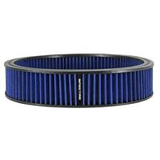 "Spectre Round Air Filter Element, Blue, 14"" x 3"" 48026"