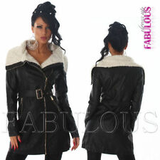 Casual V-Neckline Regular Size Coats & Jackets for Women