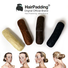 Synthetic Brown Hair Padding Pad For Creating Chignon Hair Up Styles