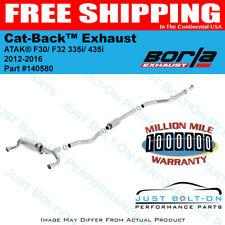 Borla ATAK Cat-Back Exhaust FITS 12-16 BMW F30/ F32 335i/435i #140580