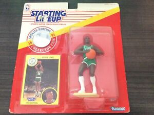 1991 ROOKIE STARTING LINEUP SLU NBA REGGIE LEWIS BOSTON CELTICS MIB Kenner NEW