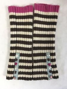 Joules Fingerless Wool Gloves Mittens Arm Warmers