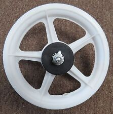 12 in Wheel White Mag for Scooter or Front Wheel for Childs Bike 5/16 in Axle