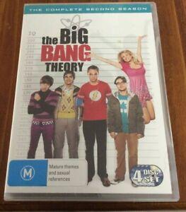 The Big Bang Theory DVD complete 2nd season 4 disc set