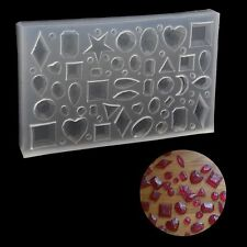 DIY Silicone Cabochon Mold Making Jewelry Pendant Resin Casting Mould Craft