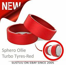 Sphero Ollie Turbo Tyres|Unbeatable & Comfort|All Type Terrain|Pack of 2|Red