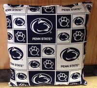 Penn State Pillow PSU Pillow NCAA Football Pillow HANDMADE In USA