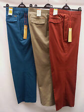 High Big & Tall Flat Front Trousers for Men