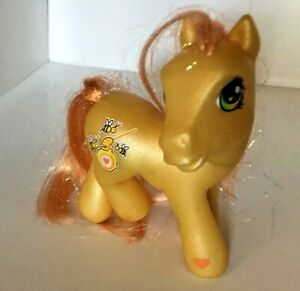 Vintage My Little Pony Bumblesweet With Honey Bees And Jar 2002