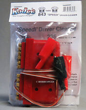 KA-DEE SPEEDI DRIVER CLEANER O GAUGE to G SCALE engines cleans KADEE KDE843 NEW