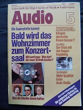 Audio 5/79 Sony ta n 86b, b&m bm 6, burmester 785, Canton gle 100, Revox br 430