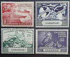 SARAWAK ( MALAYSIA ) 1949 75TH ANNIV. OF UPU SG 167 - 160 MNH OG