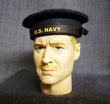 Banjoman 1:6 Scale Custom WW2 U.S. Navy Seaman's Cap - Navy Blue