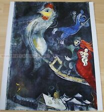 MARC CHAGALL - THE FLYING HORSE * KUNSTKREIS LUCERNE ART PRINT 1966