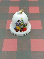 Disney Christmas Bell Ornament Grolier Collectibles 1994 Snow White