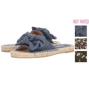 Not Rated Womens Erra Espadrille Slide Sandal
