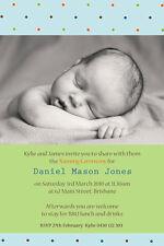Boy Baptism/Christening/Naming Day Invitation We print or Print Yourself