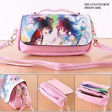 LOVE LIVE! Anime PU Tasche Tragtasche Kosmetiktasche Schlamper Geldbeutel Etui