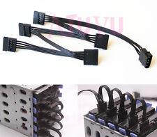 Cable d'alimentation SATA pour config RAID 5 Disk MOLEX 4pin -> 5 x SATA 15pin