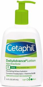 Cetaphil Daily Advance Lotion for Dry Sensitive Skin, 16 oz