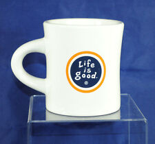 Life Is Good Logo Coffee Tea Mug Cup Diner Ware Heavy Do What You Like 10 Ounce