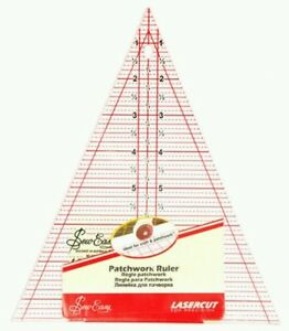 """SEW EASY 45 DEGREE TRIANGLE 8.5"""" x 7"""" TEMPLATE RULER - PATCHWORK,BUNTING NL4157"""