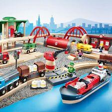 🚂 BRIO World Deluxe Wooden Railway Train Set 🚂