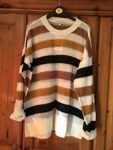 Next Multi-striped Jumper Size Large