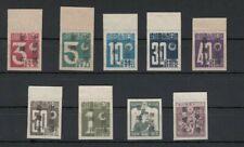 TAIWAN, Japanische Verwaltung 1945 Freimarken 1-7, 8-9 (*), (28618)