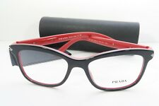 60c63b720d Prada Woman s Black Eyeglasses with Case 53mm VPR 10R 7I6-1O1