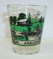 Vintage Arkansas Souvenir Shot Glass - Ourdoor Sportsman