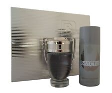 Paco rabanne Invictus eau de toilette EDT 100ml. & desodorante spray 150ml.