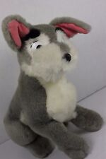 """Vintage Sears Lady and the Tramp Plush 12"""" Mutt Puppy Disney Movie"""