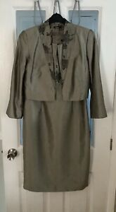 Dress and Jacket Suit by ROMAN - Size 14