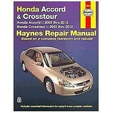 Honda Accord 03-12 Crosstour 10-12: Honda Accord 2003 thru 2012-ExLibrary
