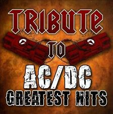 Tribute to AC/DC Greatest Hits by Various Artists (CD, Oct-2010, CC...