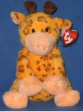 Towers the Giraffe - Ty Pluffies - Mint with Mint Tags