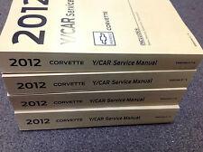 2012 Chevrolet Chevy Corvette Service Shop Repair Workshop Manual Set FACTORY