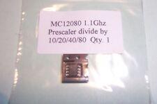 MC12080  Prescaler 1.1Ghz Divide by  10/20/40/80 Genuine Motorola  Qty. 1 NOS