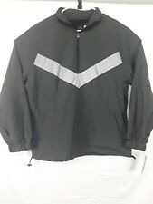 Mens Casual Fit Reflective Pieced Original Use Anorak Jacket size M