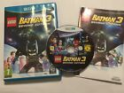 PAL NINTENDO Wii-U Wiiu GAME VIDEOGAME LEGO BATMAN 3 BEYOND GOTHAM COMPLETE