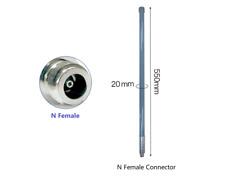 More details for puretek® 5.8dbi 868mhz optimised tuned helium omni fiberglass aerial antenna